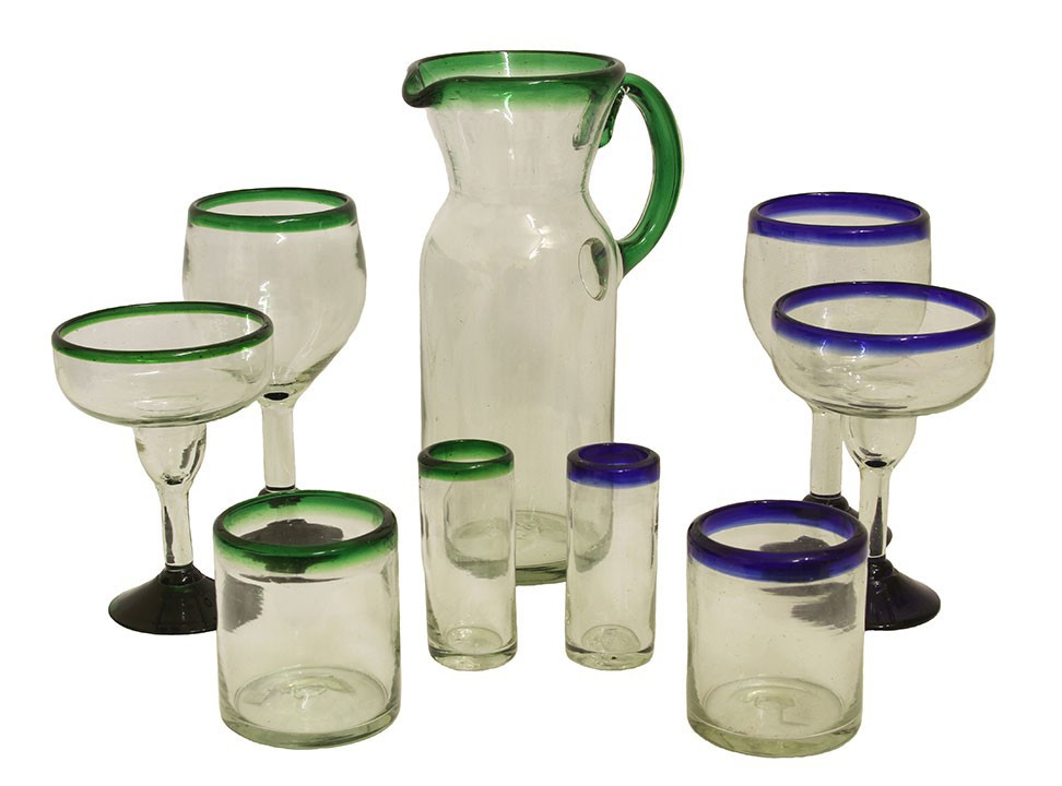 Mexican Glassware  sc 1 st  Casa Mexico : mexican tableware uk - pezcame.com