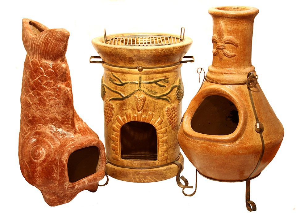 Mexican chimineas casa mexico for Mexican chiminea