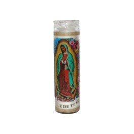 Guadalupe Candle 29cm x 5cmW