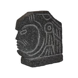 Aztec Eagle Warrior 20x9x20cmH
