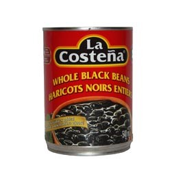 Whole Black Beans (Tinned) 560gm