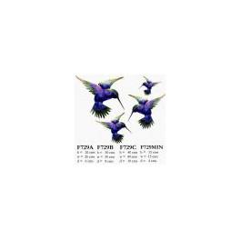 Metal Humming Bird (Blue)